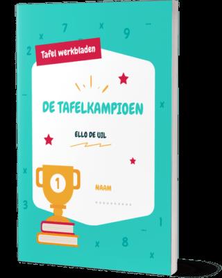 Tafel Werkbladen | Het e-book De Tafelkampioen
